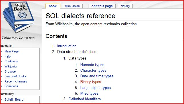 SQL Dialects