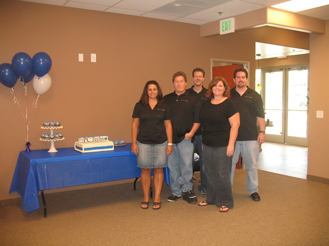 The my PC Techs Team, July 2010