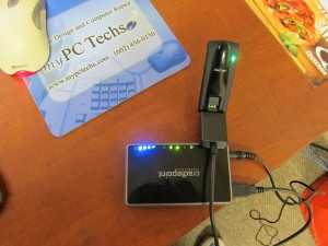Cradlepoint Mobile Router and Verizon 4G Card