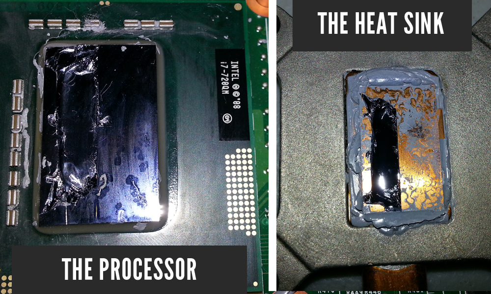 Fused Together CPU and Heat Sink